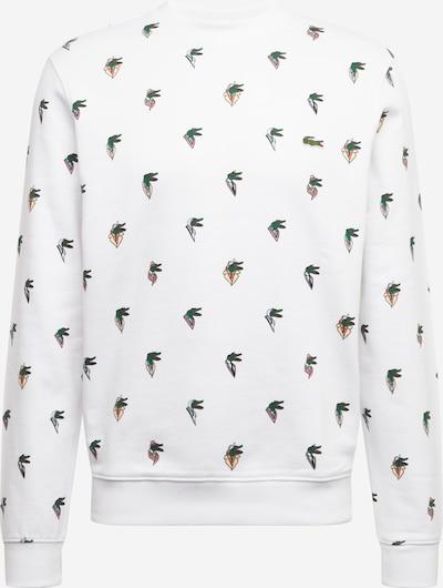 LACOSTE Sweat-shirt en blanc, Vue avec produit