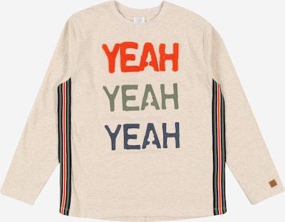 Hust & Claire Shirt 'Alfredo' in de kleur Beige / Navy / Olijfgroen / Sinaasappel, Productweergave