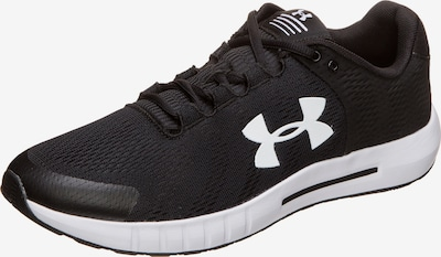 UNDER ARMOUR Laufschuh 'Micro G Pursuit BP' in schwarz / weiß, Produktansicht