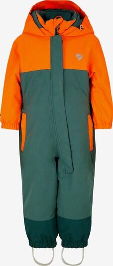 ZIENER Schneeanzug in grün / orange, Produktansicht