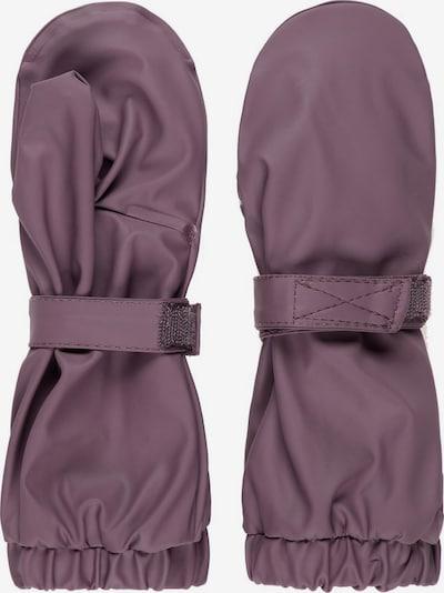 NAME IT Gants en violet clair, Vue avec produit