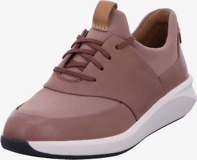 CLARKS Sneaker in altrosa / weiß, Produktansicht