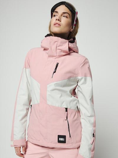 Laisvalaikio striukė 'PW CORAL' iš O'NEILL , spalva - rožių spalva / balta: Vaizdas iš priekio