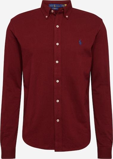 POLO RALPH LAUREN Overhemd 'Featherweight' in de kleur Wijnrood, Productweergave