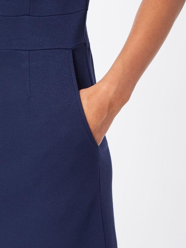 'mona Louie Dress Robe King Crepe' Bleu En MarineFoncé Milano yfgvYb76