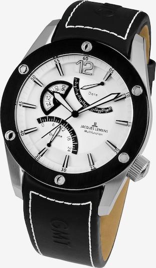 Jacques Lemans Uhr 'Liverpool 1-1739B' in schwarz / silber, Produktansicht