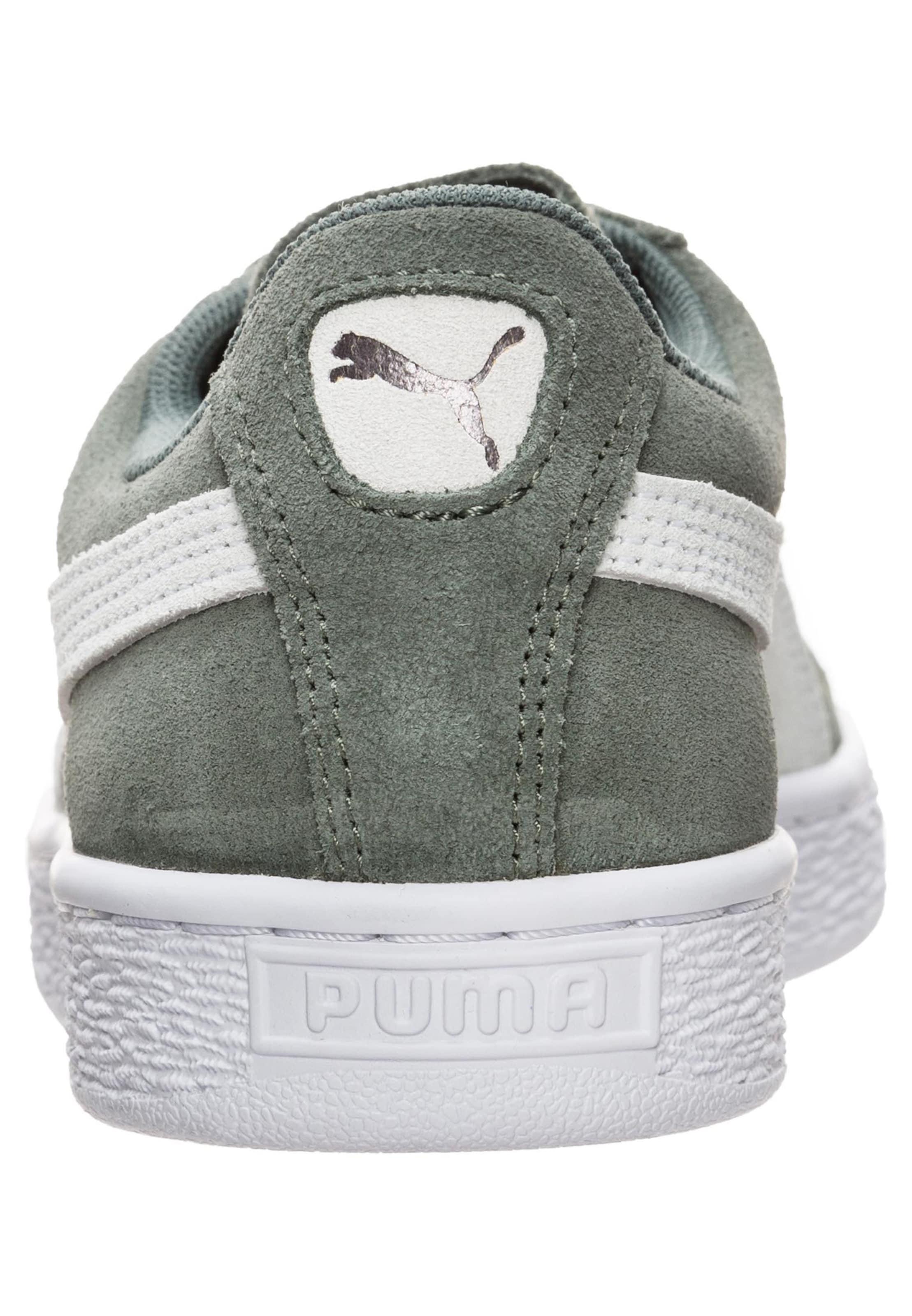 Classic' Sneaker 'suede In Naturweiß KhakiWeiß Puma 8wXkn0OP