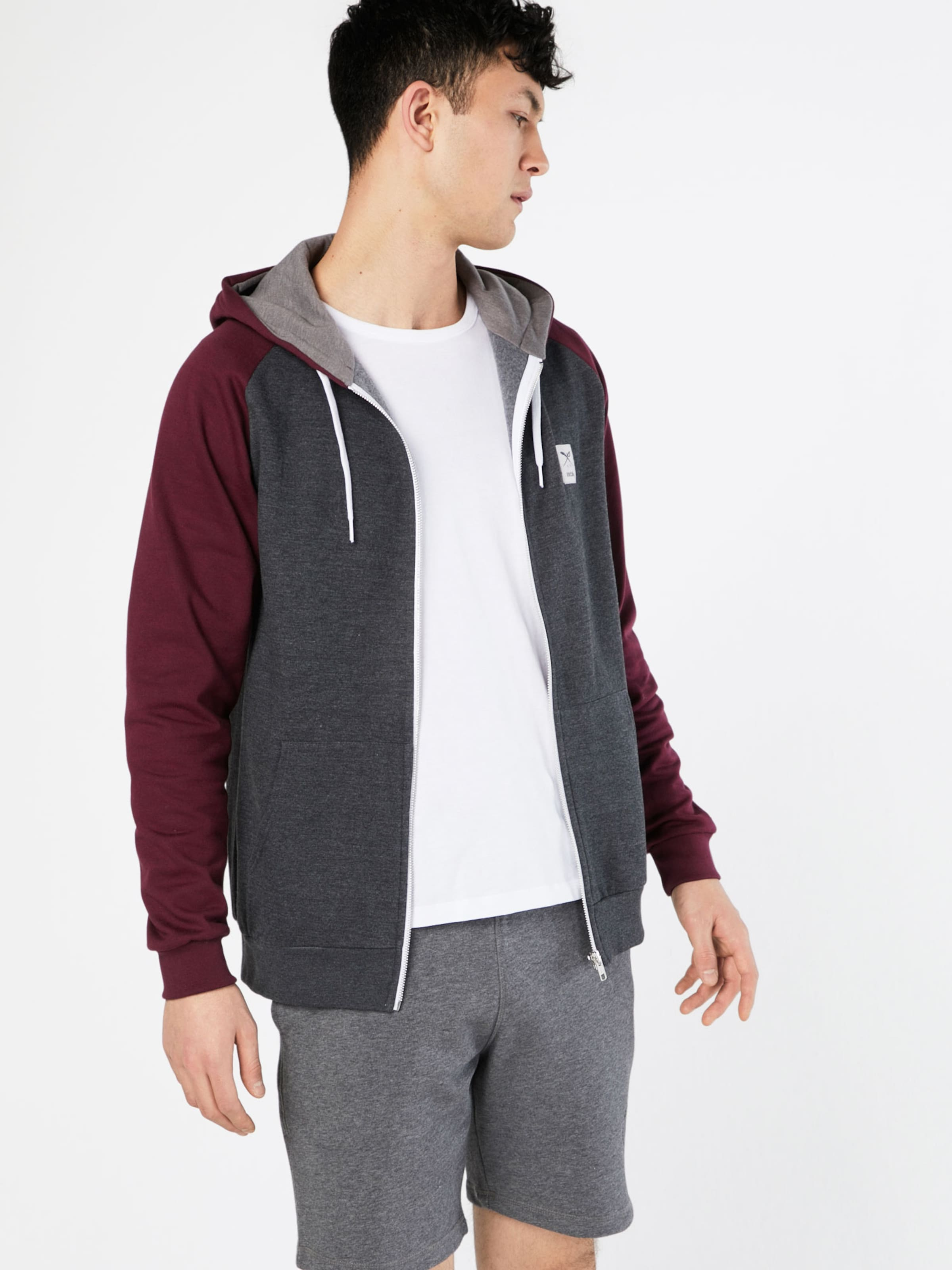 Iriedaily Sweatshirt 'De College' Spielraum Online Ebay Rabatt Footlocker Preiswerte Reale Finish 7UzRrVg