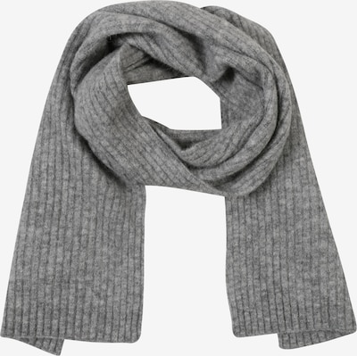 Samsoe Samsoe Sjaal 'Nori scarf slim 7355' in de kleur Grijs gemêleerd, Productweergave
