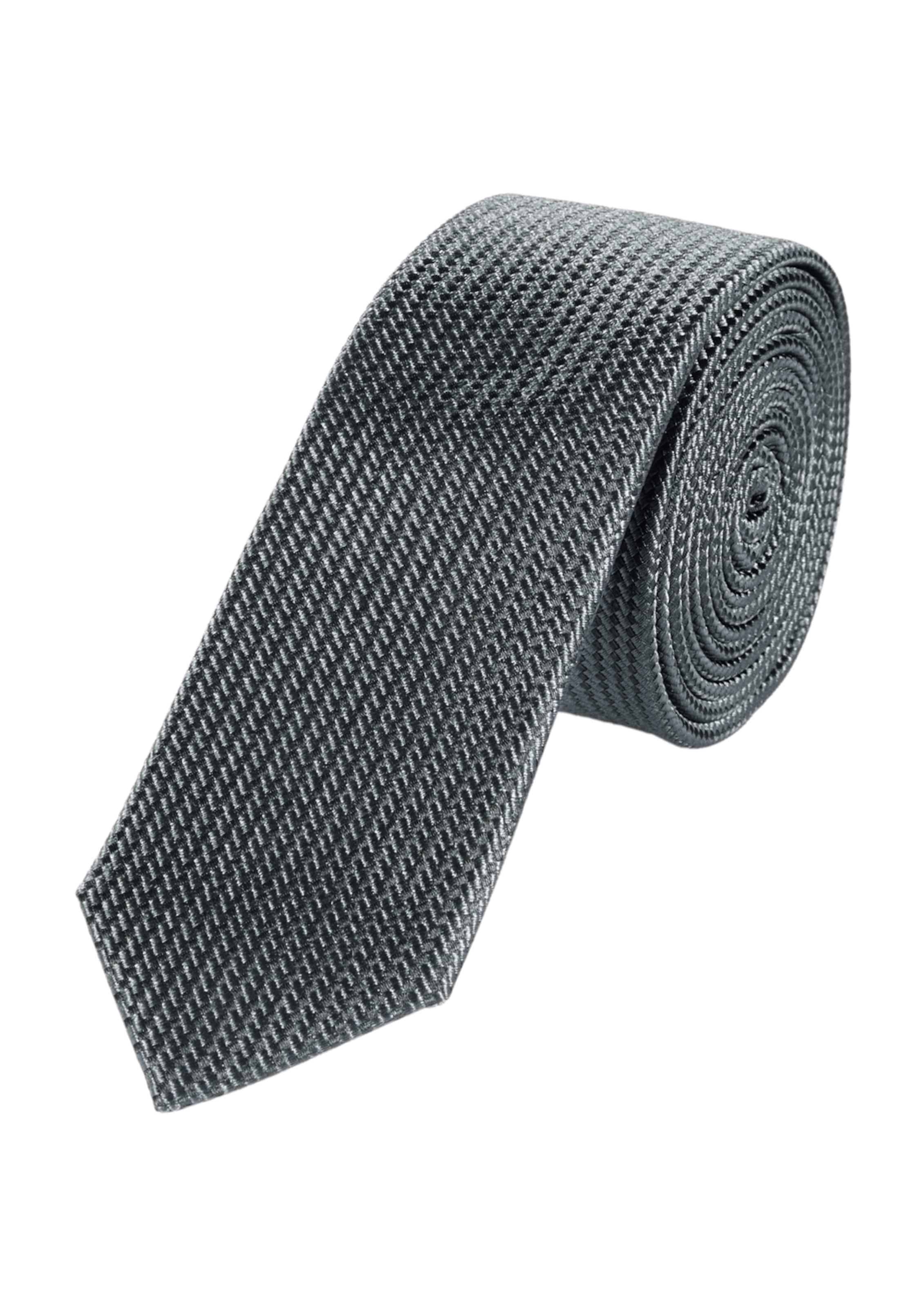 s.Oliver BLACK LABEL Krawatte mit Strukturmuster Mit Kreditkarte rFQPfEu