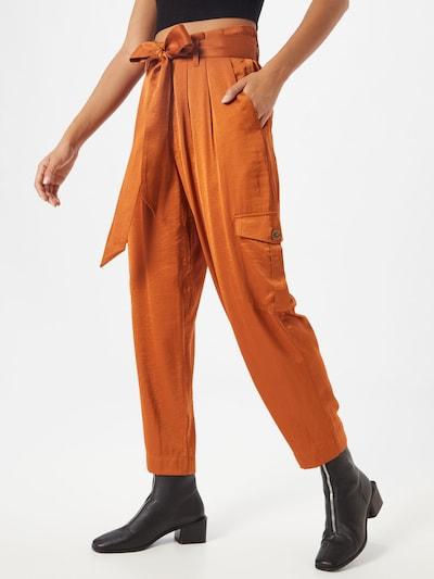 Copenhagen Muse Spodnie 'CACCO-PA' w kolorze koniakowym: Widok z przodu