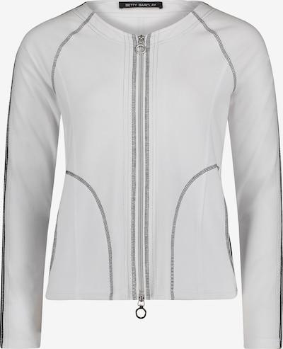 Betty Barclay Sweatvest in de kleur Wit, Productweergave