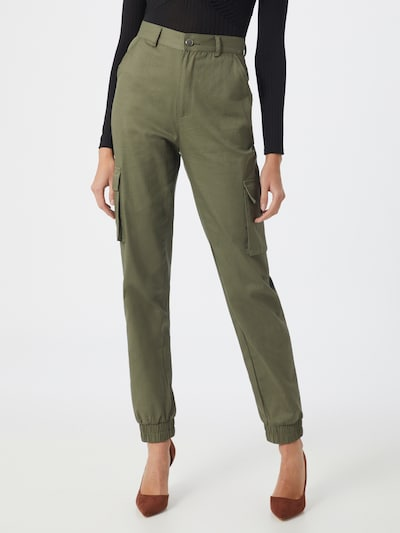 Missguided Hose in khaki, Modelansicht