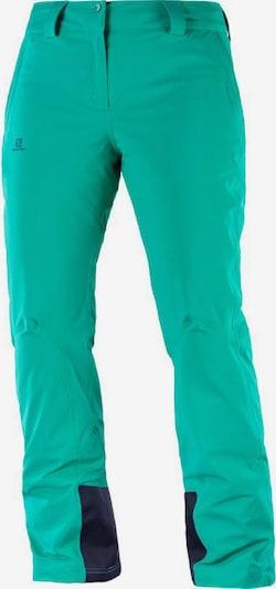 SALOMON Hose 'Icemania' in blau / mint, Produktansicht