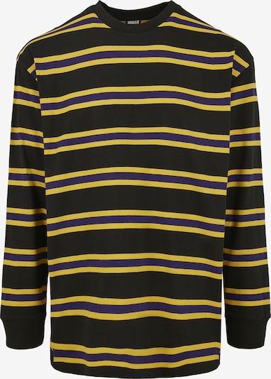 Urban Classics Shirt in de kleur Geel / Zwart, Productweergave
