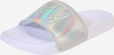 Superdry Muiltjes in de kleur Zilver, Productweergave