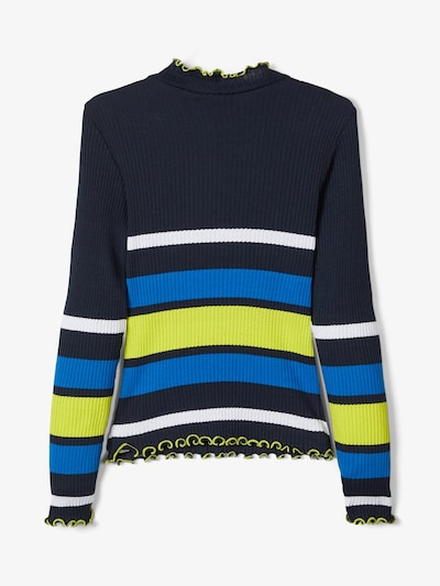 NAME IT Pullover in blau: Frontalansicht