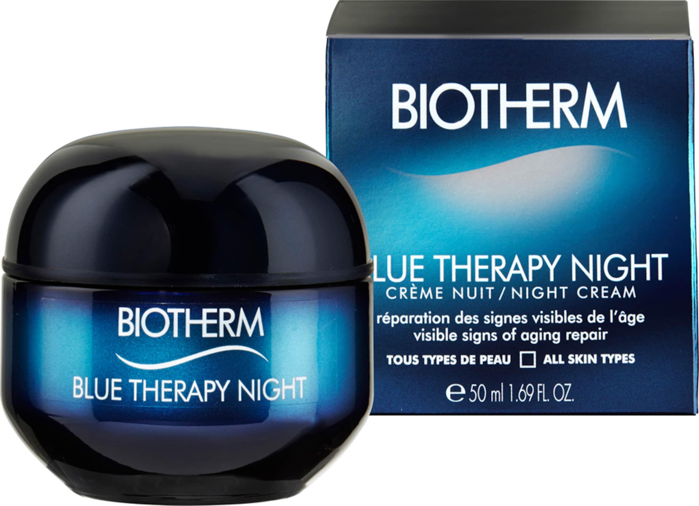Günstig Kaufen Besuch Einkaufen Outlet Online BIOTHERM 'Blue Therapy Night Cream' Anti-Aging Nachtpflege IZTup2jJD