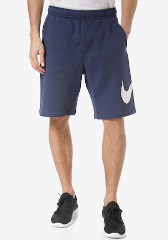 Nike Sportswear Workout Pants 'Club Gx' in Blue