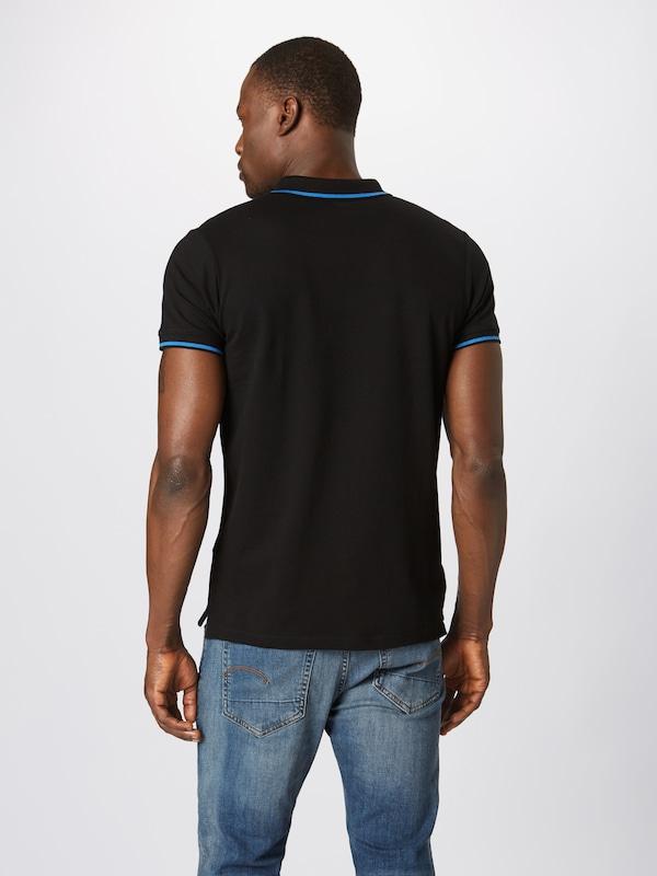T En solid shirt Noir 'axton' NyvnOwm80