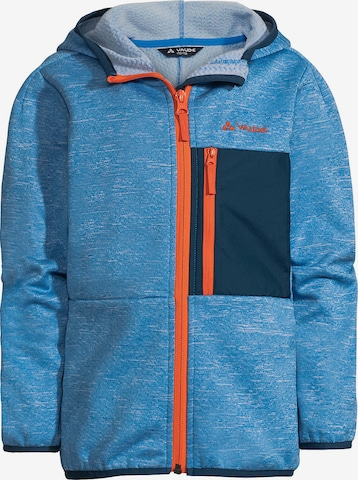 VAUDE Athletic fleece jacket 'Kikimora' in Blue