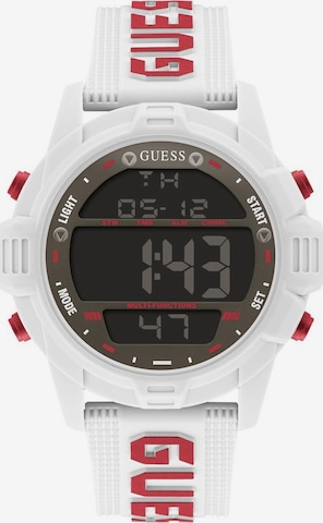 GUESS Digital Watch in White