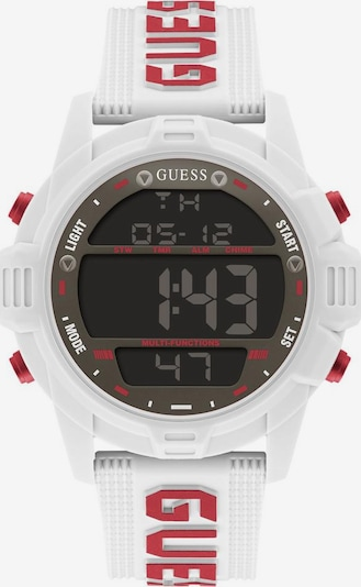 GUESS Digital Watch in Red / Black / White, Item view