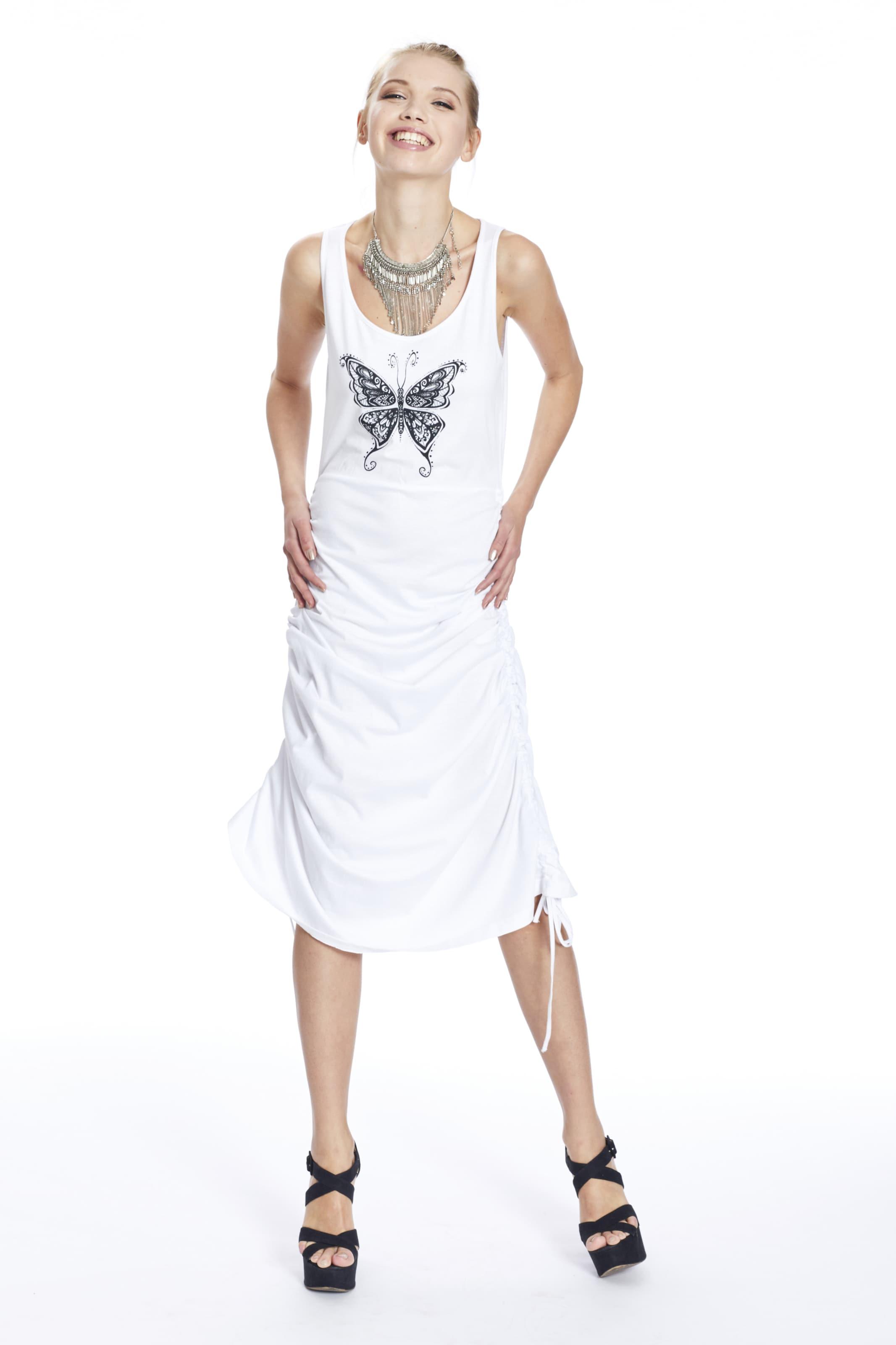 Mymo Kleid Mymo In Mymo Kleid Kleid Weiß In Weiß In Weiß TJFKcl1