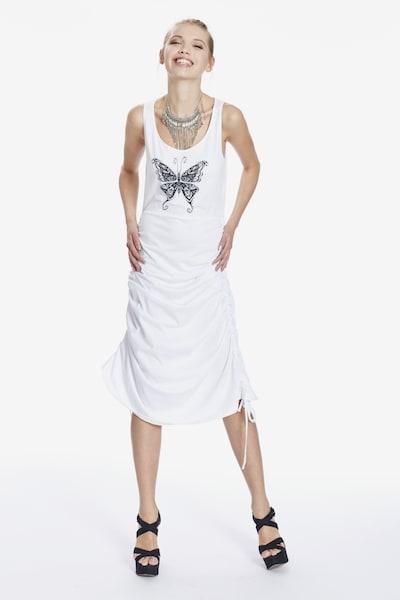 MYMO Kleid in weiß, Modelansicht