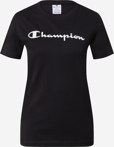 Champion Authentic Athletic Apparel Majica u crna / bijela, Pregled proizvoda