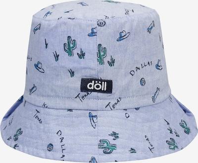 DÖLL Hut in blau / hellblau: Frontalansicht