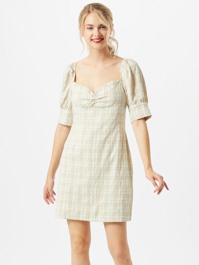 GLAMOROUS Kleid in beige / grün, Modelansicht