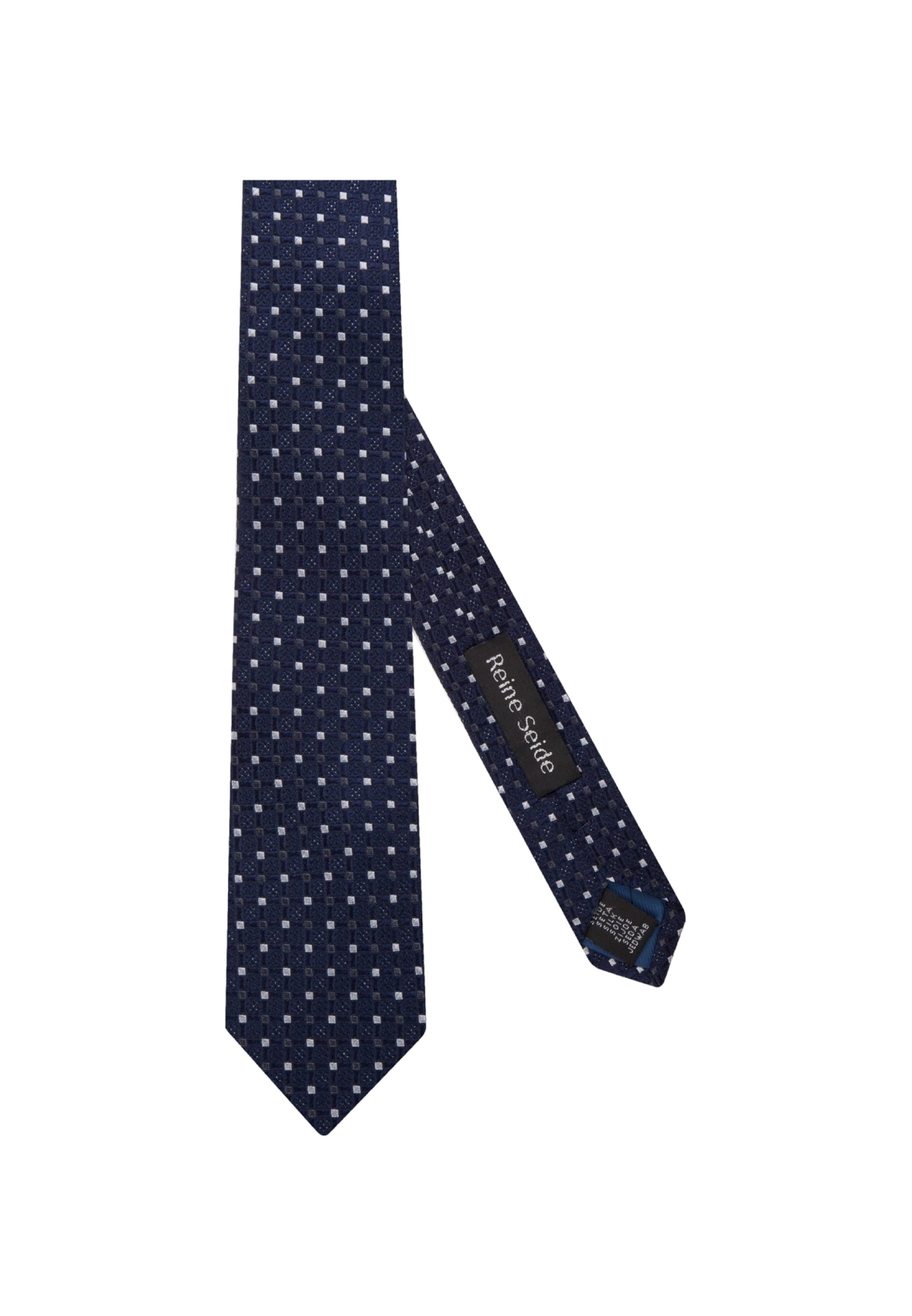 Cravate En 'schwarze Seidensticker Bleu Rose' XikTOPZu