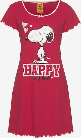 PEANUTS Nightgown in Red / White, Item view