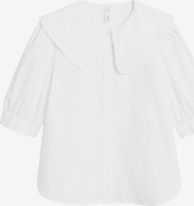MANGO Chemisier 'Siena' en blanc, Vue avec produit