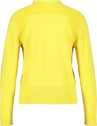 GERRY WEBER Jacke Strick Strickjacke aus Baumwolle in gelb, Produktansicht