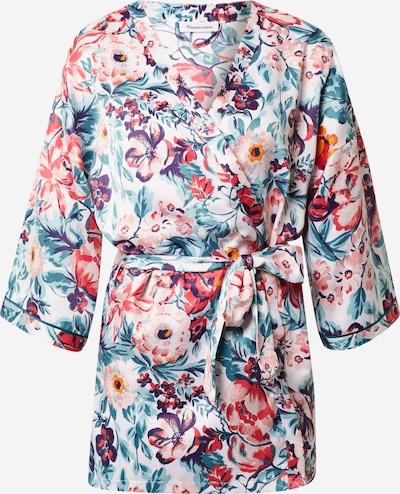 PASSIONATA Robe de chambre 'Kimono' en mélange de couleurs, Vue avec produit