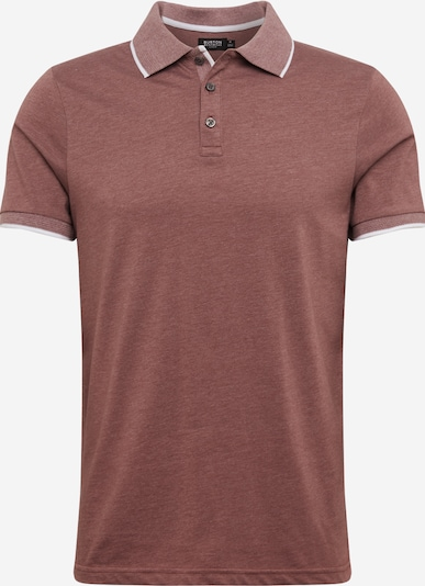 BURTON MENSWEAR LONDON Poloshirt 'Pink Marl Tip Polo Shirt' in pink, Produktansicht