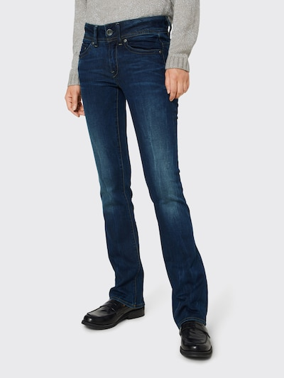 G-Star RAW 'Midge Saddle Mid Bootleg' Jeans in blau, Modelansicht