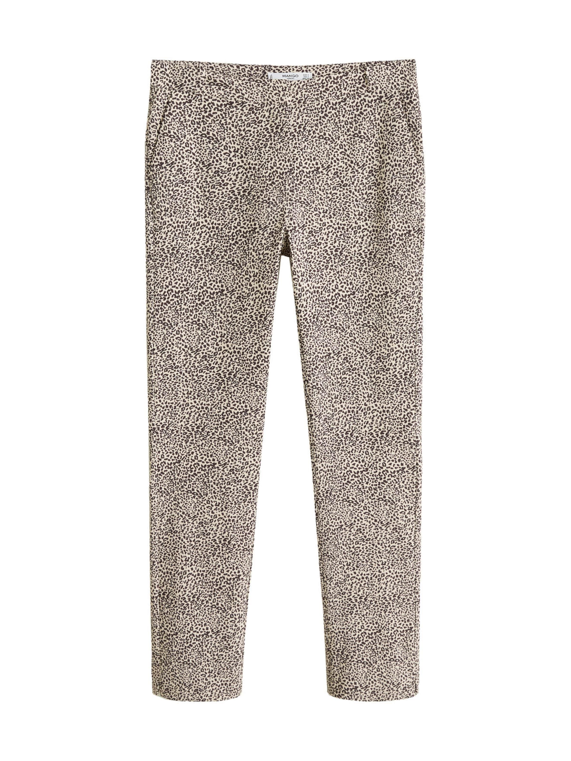 'trousers Cola' Hose In Beige Mango OP8n0kw