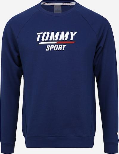 Hanorac sport Tommy Sport pe albastru / alb, Vizualizare produs