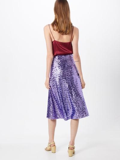 Sijonas 'Henny' iš Samsoe Samsoe , spalva - purpurinė: Vaizdas iš galinės pusės