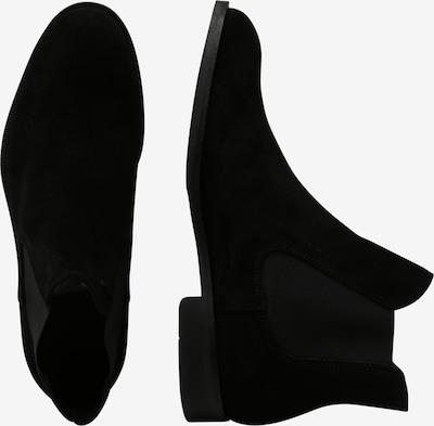 SELECTED HOMME Chelsea Boots 'SLHLOUIS' en noir: Vue de profil