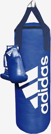 ADIDAS PERFORMANCE Boxsack in blau / weiß, Produktansicht