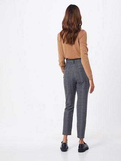 Pantaloni cu dungă 'EVA' VERO MODA pe gri închis: Privire spate