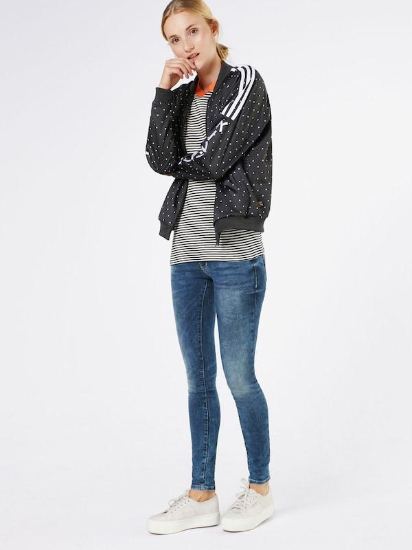 TOM TAILOR DENIM Skinny Jeans 'Jona Ultra Low Deep Blue'