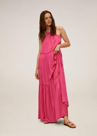 MANGO Kleid in fuchsia, Modelansicht