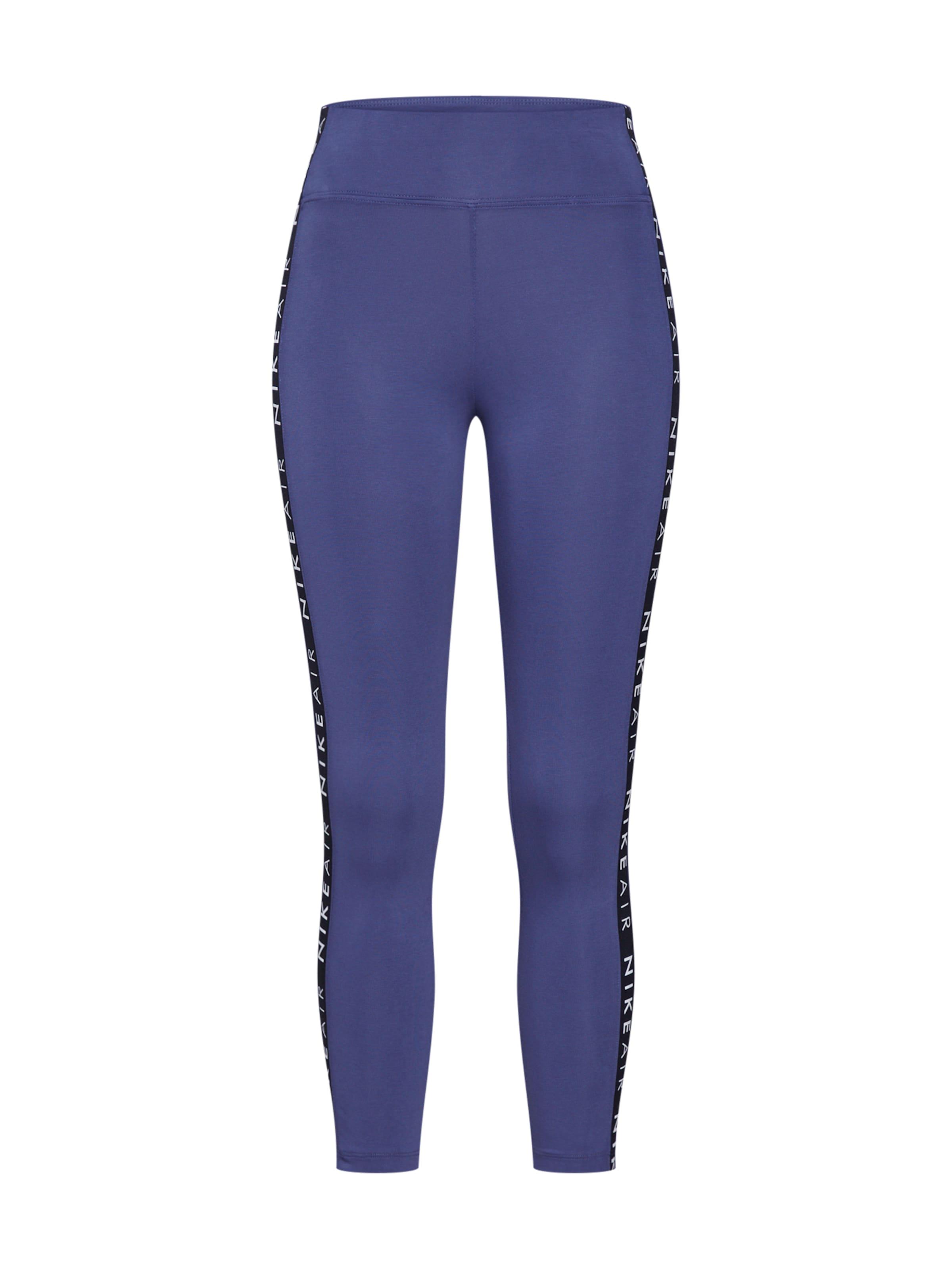 'air' Nike Sportswear Leggings Aubergine In WEH29DYeI