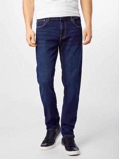 Urban Classics Jeans in dunkelblau: Frontalansicht