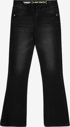 VINGINO Jeans 'Becka' in de kleur Black denim, Productweergave